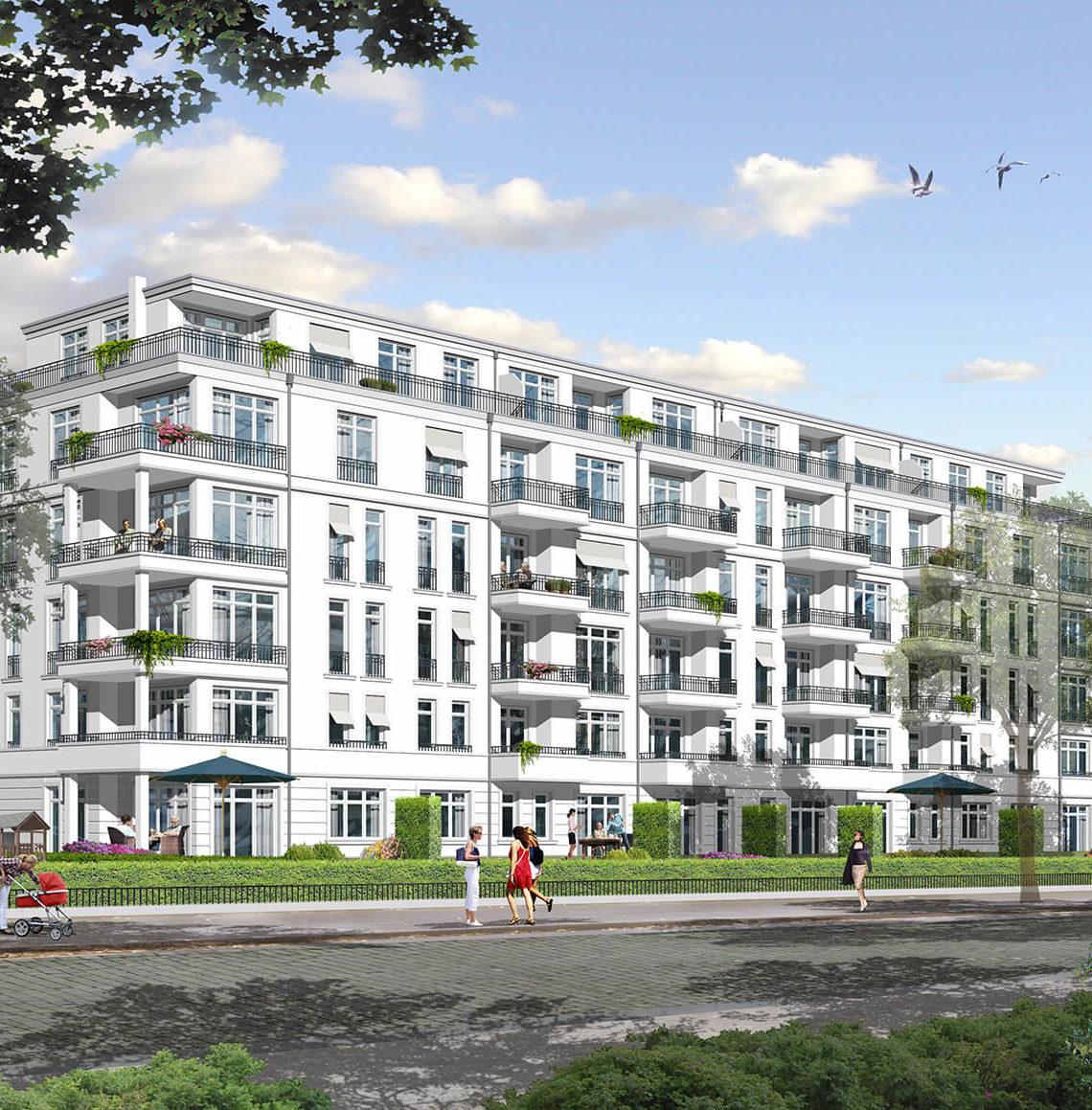 Wohnungsbauprojekt Brehme-Palais