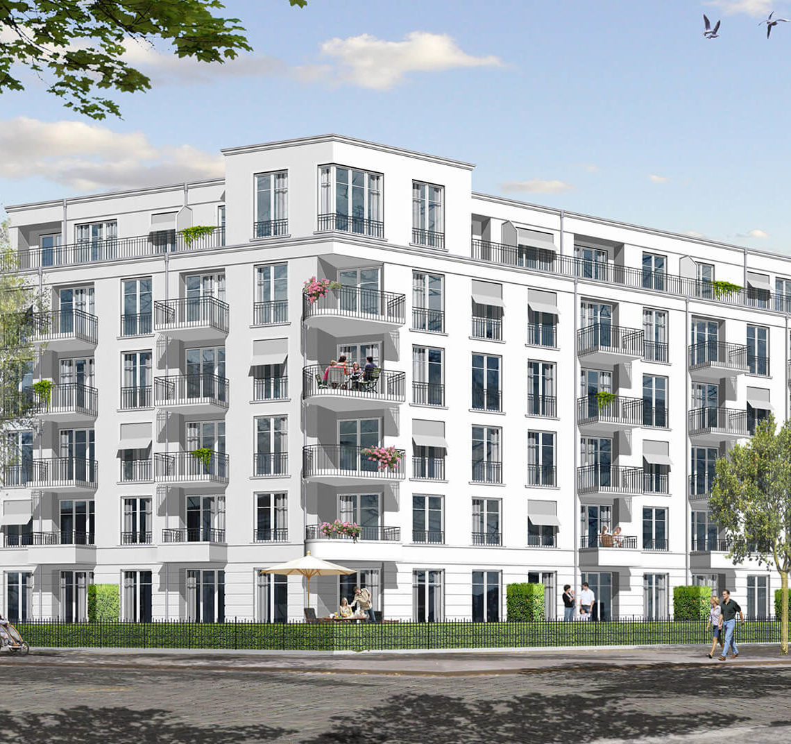 Wohnungsbauprojekt FriedrichsCarré