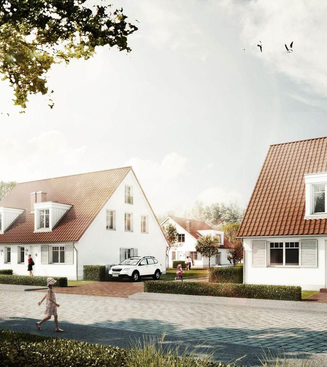 Wohnungsbauprojekt Gartenensemble