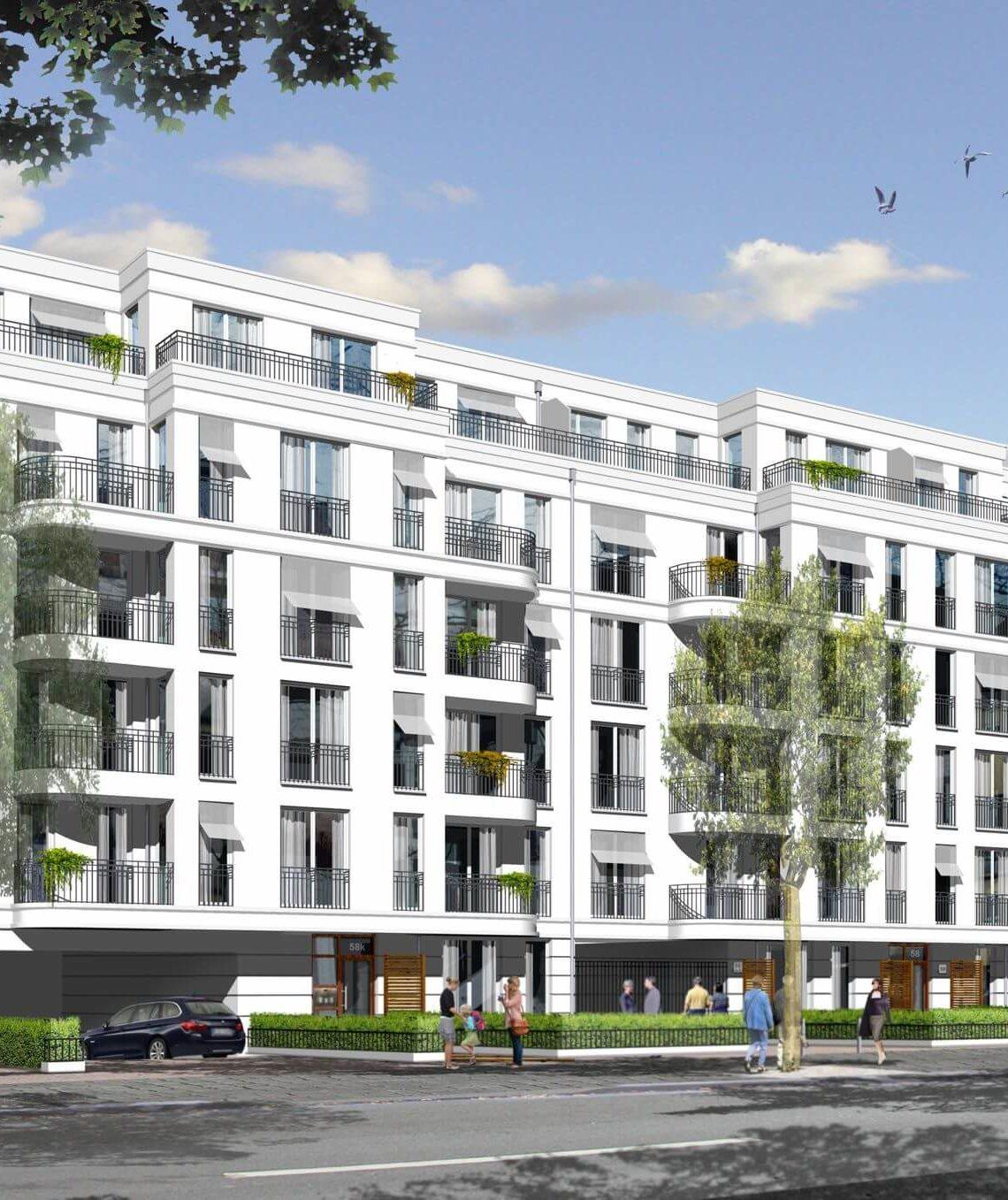 Wohnungsbauprojekt Wilhelms-Quartier