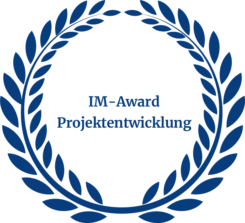 Auszeichnung IM Award Projektentwicklung