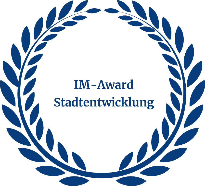 Auszeichnung IM Award Stadtentwicklung