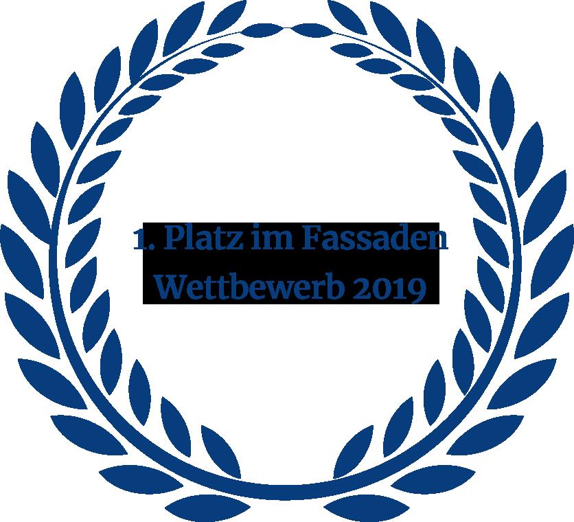 Auszeichnung Fassaden Wettbewerb 2019