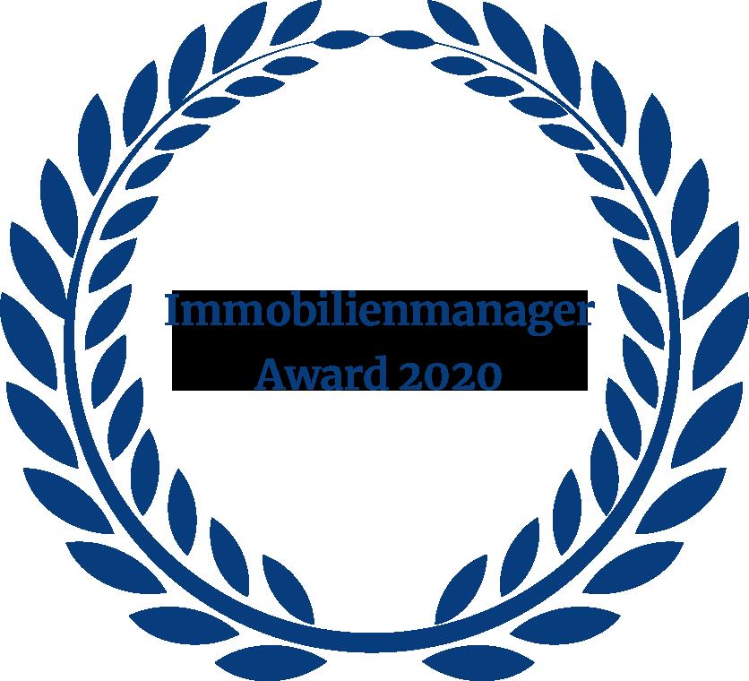 Auszeichnung Immobilienmanager Award 2020