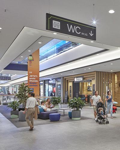 Centermanagement Einkaufszentrum